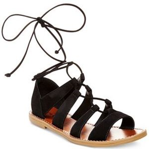 Steve Madden sanndee lace up sandals